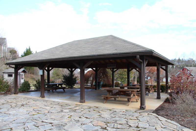 Community pavilion in Ashley Woods