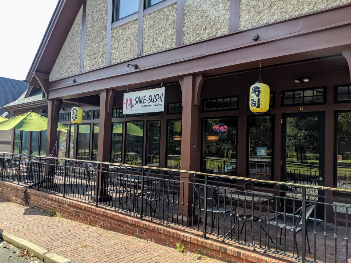 Sake Sushi Restaurant in Cheshire Village