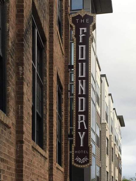 Foundry Hotel, Asheville