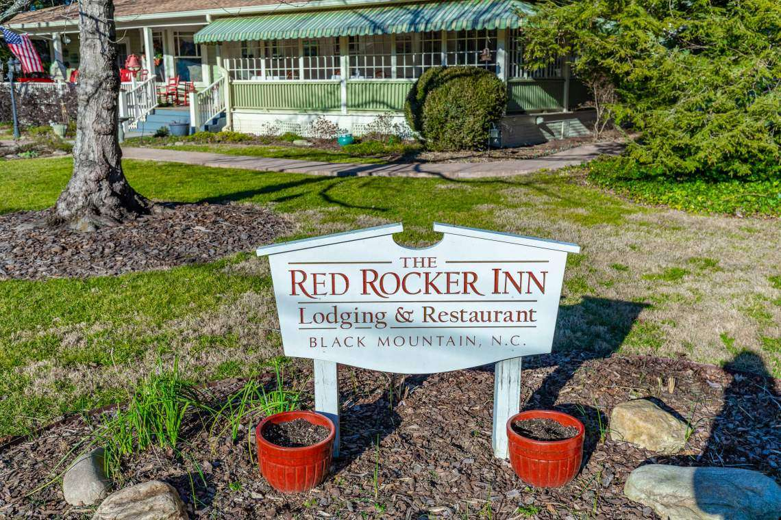 The Red Rocker Inn – 136 N. Dougherty, Black Mountain, NC