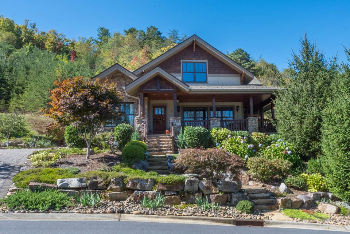 Arts and Crafts Home in Black Mountain, NC
