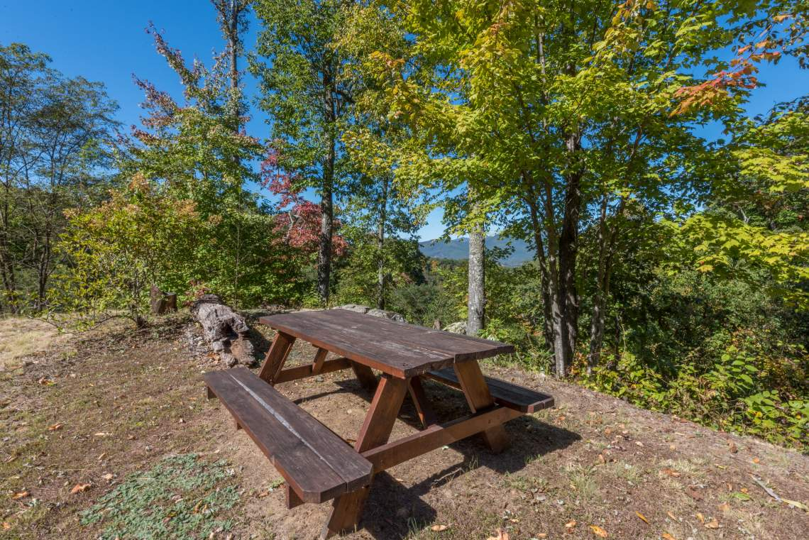 The Settings of Black Mountain Picnic Area