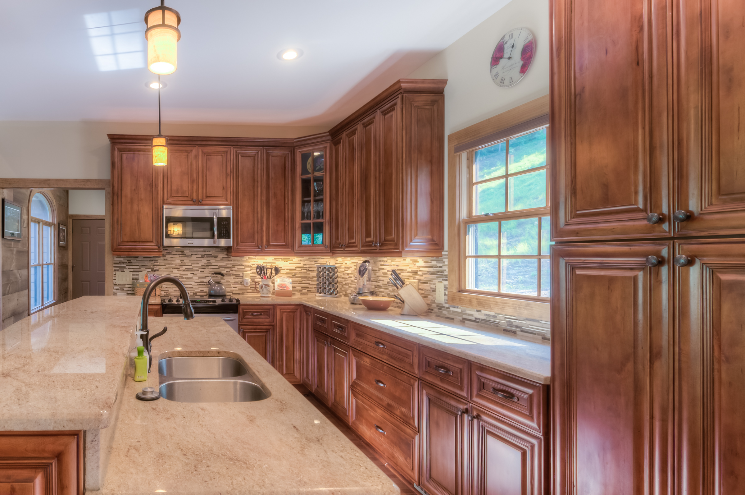 Gourmet kitchen in Laurel Ridge, Black Mountain, NC