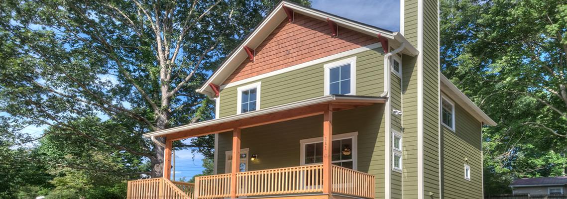 NC Healthybuilt and Energy Star home near Lake Tomahawk Park