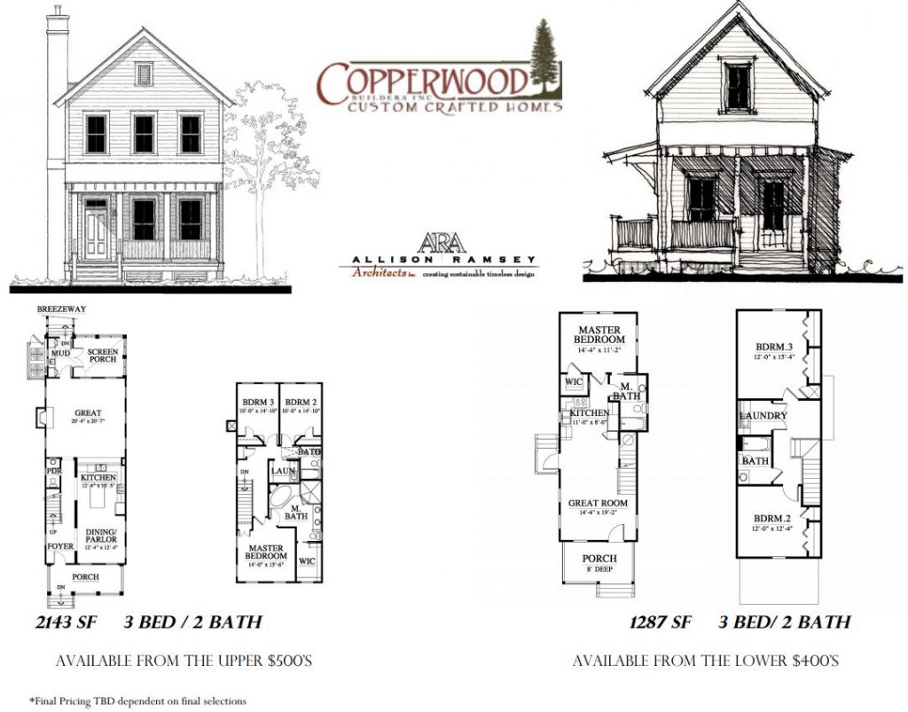 Blueprint Image of house built by Copperwood Custom Crafted Homes
