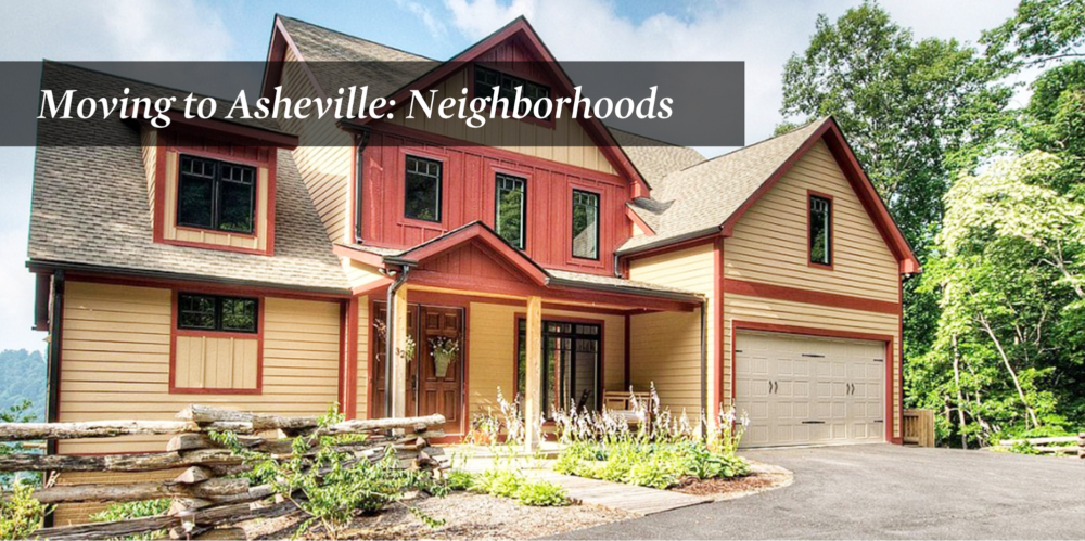 Moving to Asheville: Neighborhoods