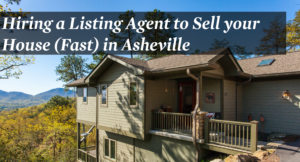 Image of house sold by a leasing agent in Asheville