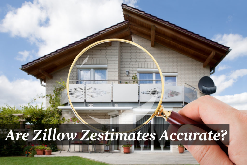 Image of house being observed by a Zillow representative to make a Zestimates.