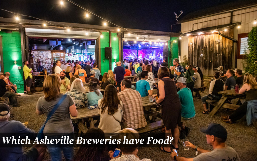 Which Asheville Breweries Have Food