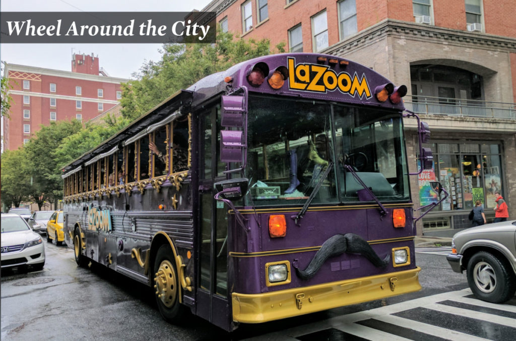 Asheville trolley, segway, bus, and mansion tours