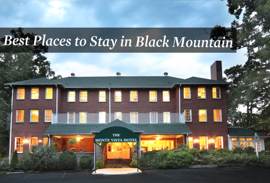 Best Places to Stay in Black Mountain, NC