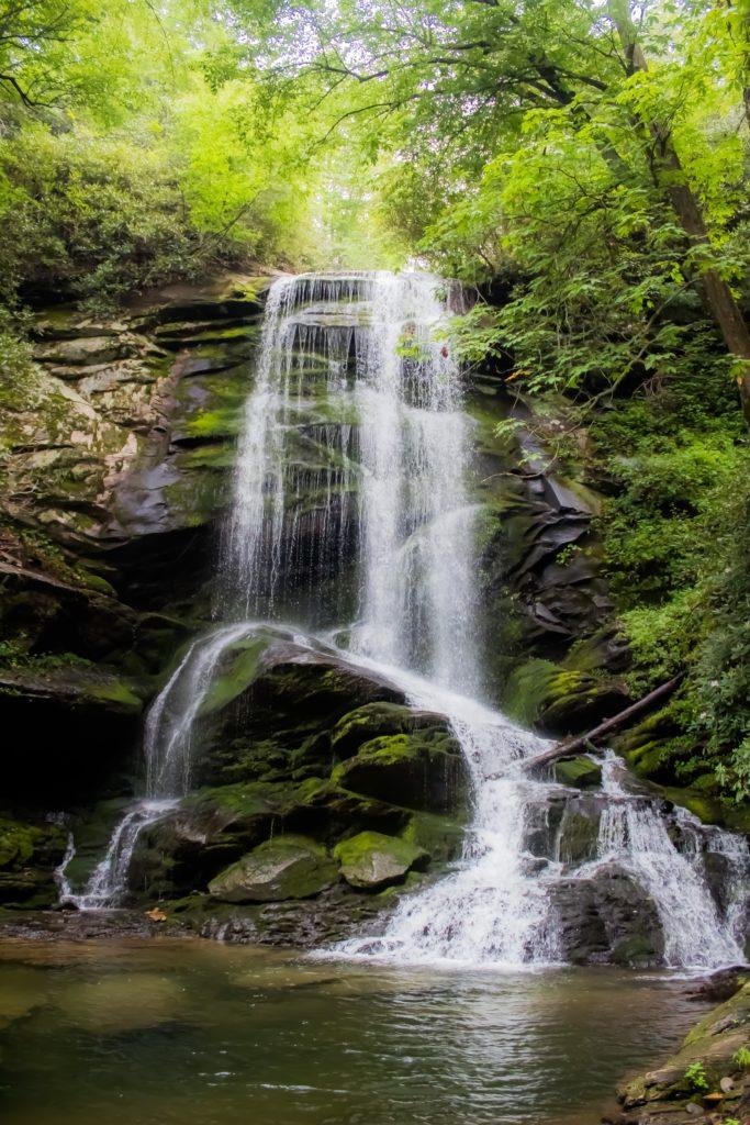 Catawba Falls near Old Fort, NC