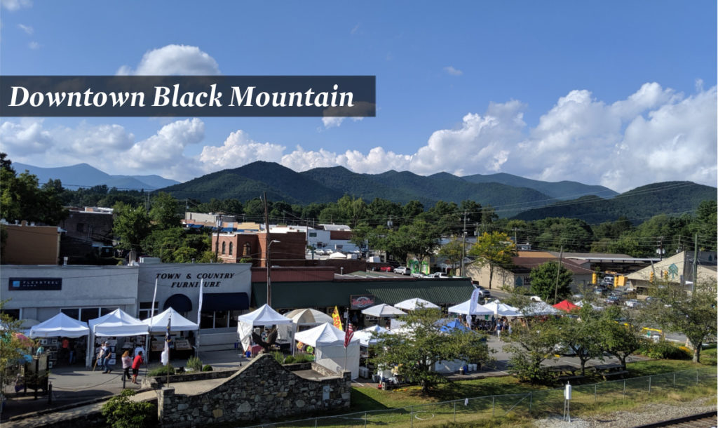 Downtown Black Mountain, NC