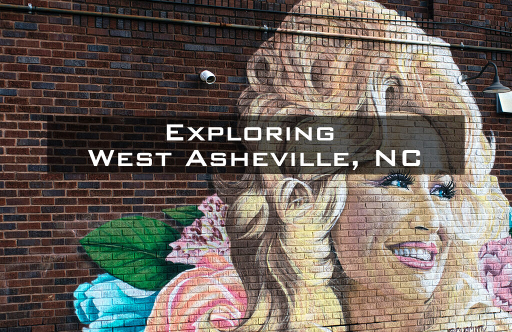 A mural of Dolly Parton on a brick wall