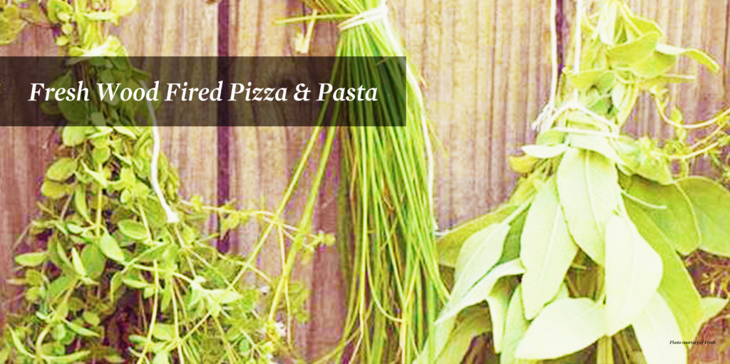 Image of herbs used at Fresh Wood Fired Pizza & Pasta.