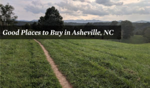 Good Places to Buy in Asheville, NC