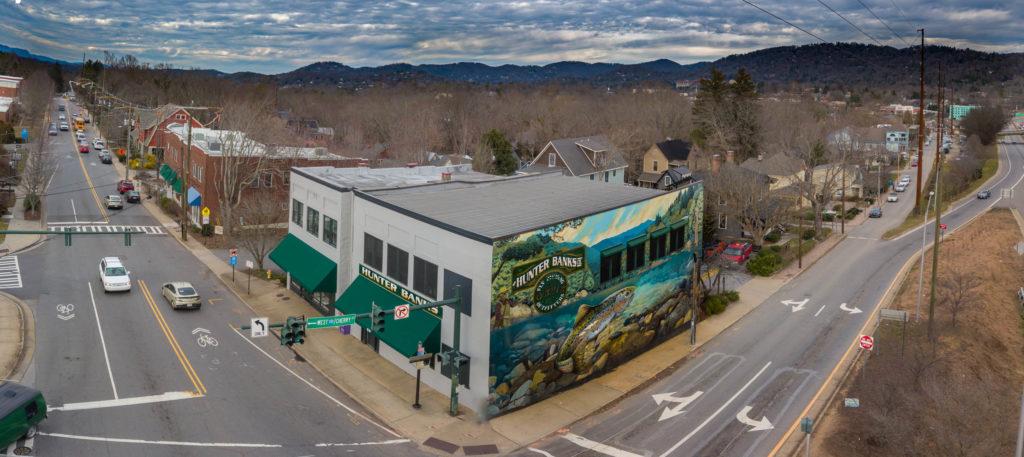 Hunter Banks Fly Shop in Asheville, NC