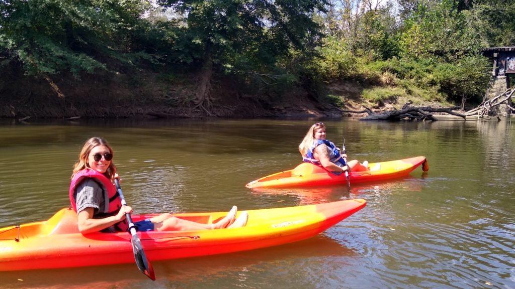 Kayaking near Asheville