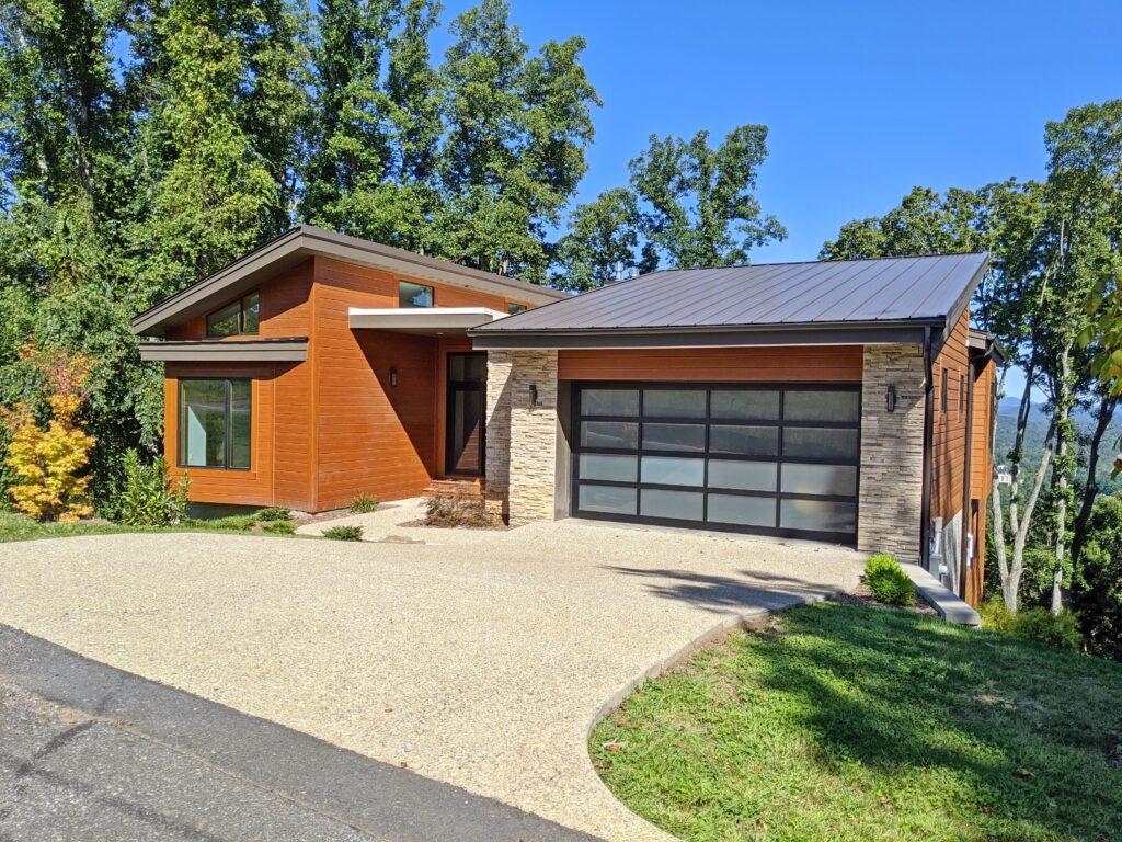 Modern home in Asheville