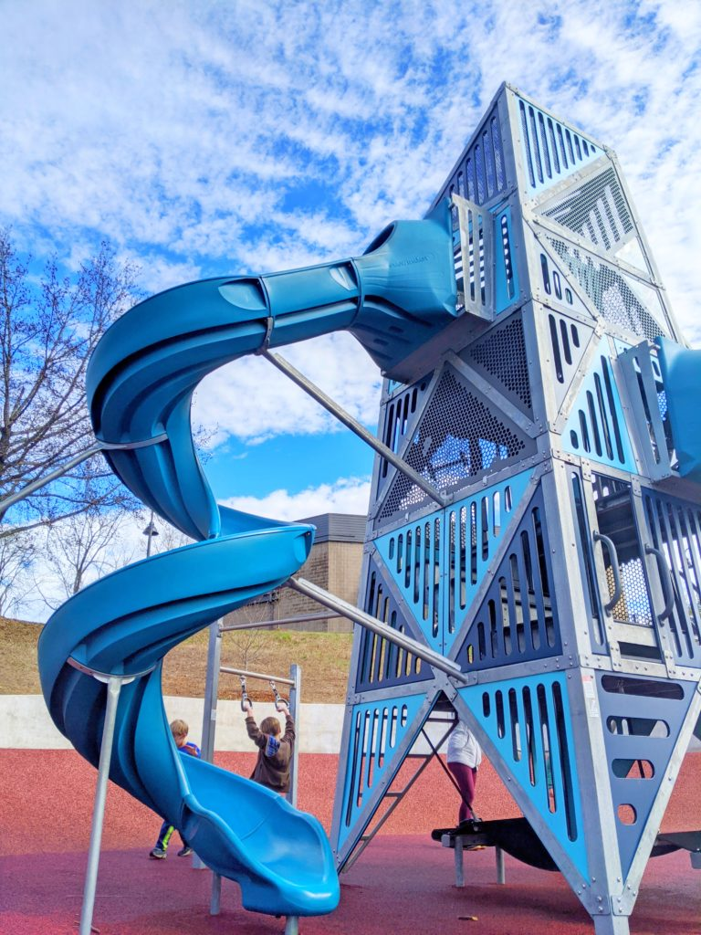 Montford Playground at the Tempie Avery Center