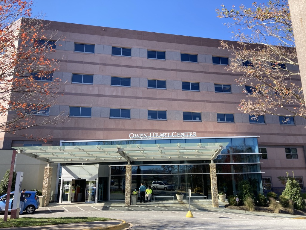 Exterior of a heart hospital
