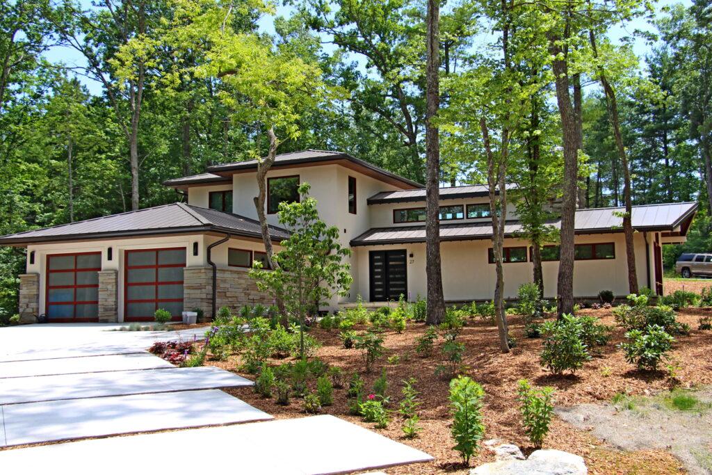 Custom Home in Asheville