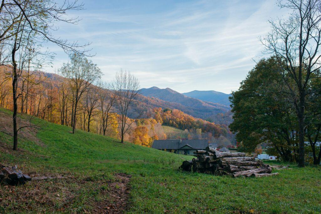 View of Mountain Land