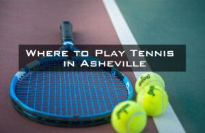 Tennis racquet and 3 tennis balls on a court