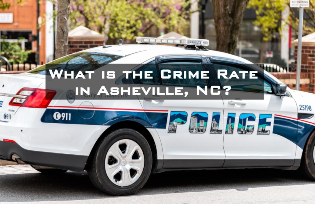 photo of Asheville police car