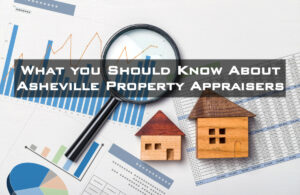 Asheville, NC property appraiser examining a real estate property