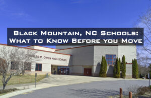 Charles D. Owen High School in Black Mountain, NC