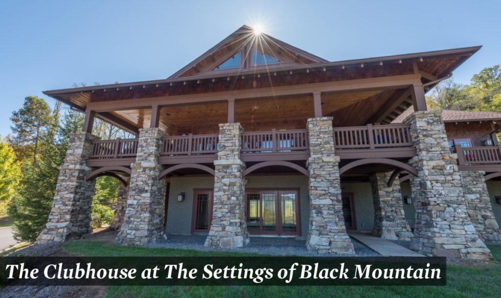 The Settings of Black Mountain Clubhouse