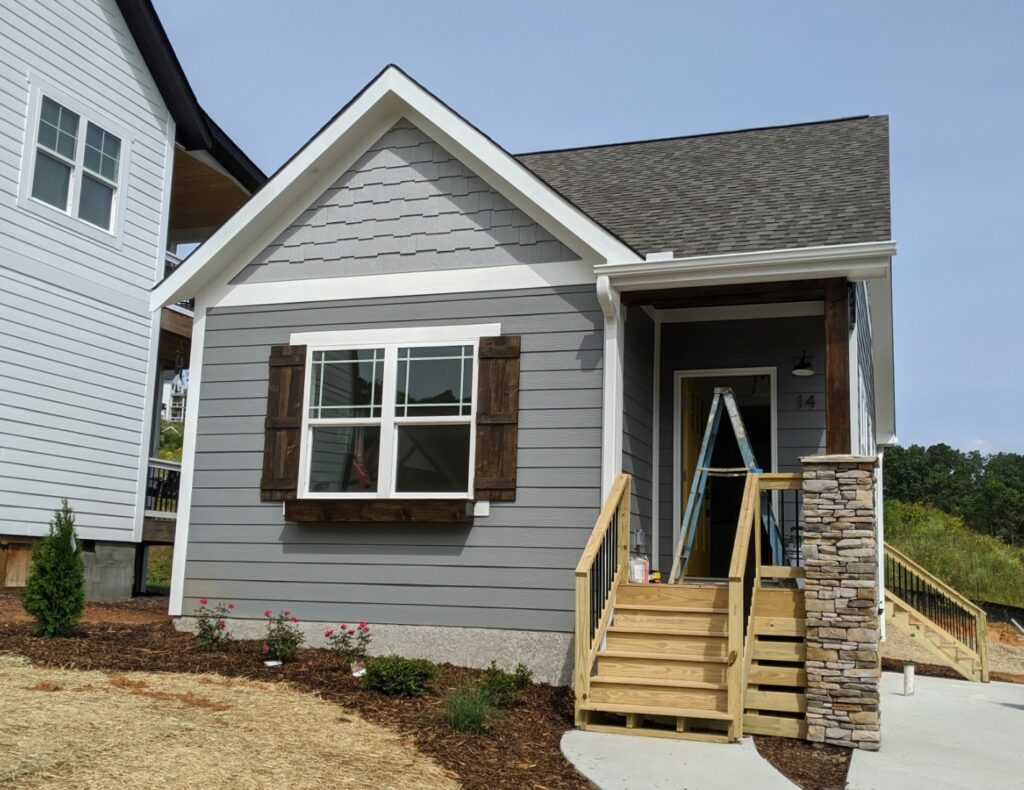 A small craftsman home