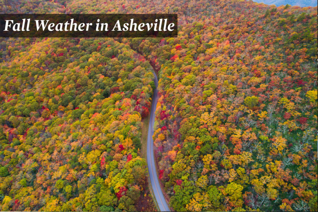 Fall Weather in Asheville