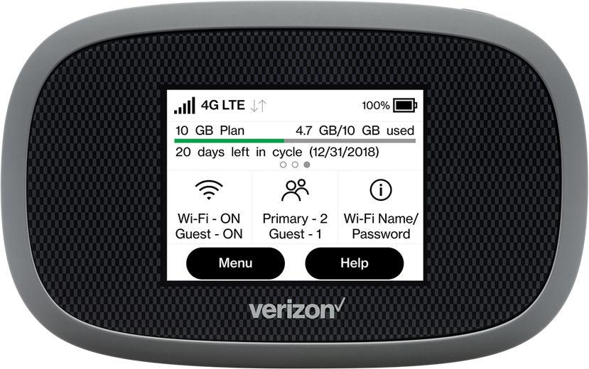 Verizon Wireless mobile hotspot