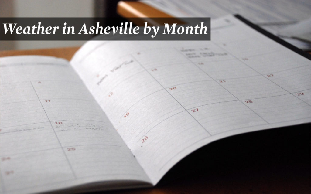 Weather in Asheville by month
