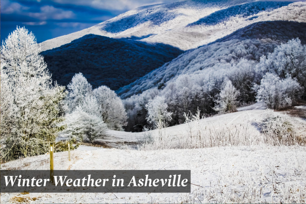 Winter Weather in Asheville